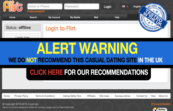Click and flirt dating site